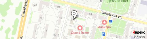 Климовский городской суд на карте Климовска