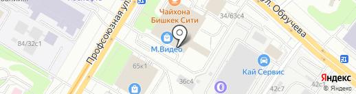 ОПТИМА на карте Москвы