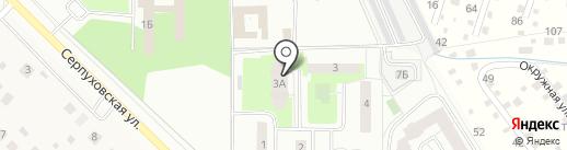 Солнечный на карте Климовска