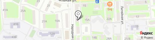 ГлавГрадоСтрой на карте Подольска