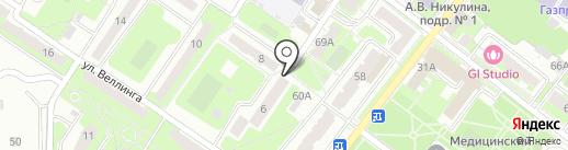 Всегда рядом на карте Подольска