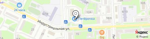 А-мега на карте Подольска