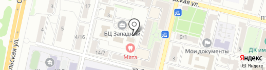 Винтаж на карте Подольска