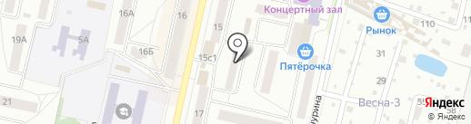Служба недвижимости г. Климовска на карте Климовска