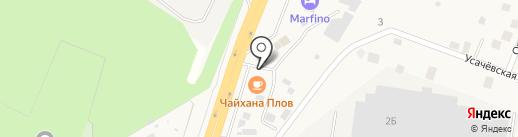 Русские хоромы на карте Ерёмино