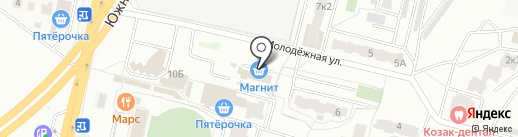 Магнит на карте Подольска