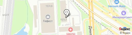 ОрдаГарант на карте Москвы