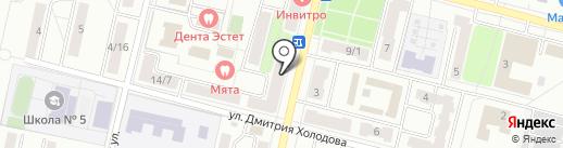 Буратино на карте Климовска