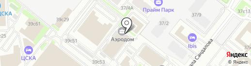 Мосоценка на карте Москвы