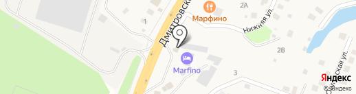 Магазин фастфудной продукции на карте Ерёмино