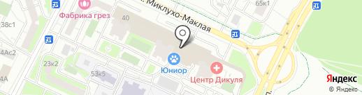 Silver-Lines на карте Москвы