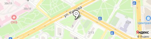 Земстройпроект на карте Подольска