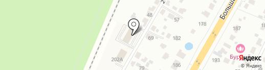 Азимут на карте Железнодорожного
