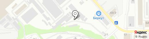 Трансмастер на карте Тулы