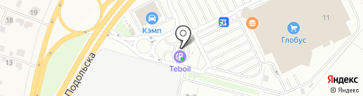АЗС BP на карте Климовска