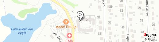 Прима парк на карте Щербинки