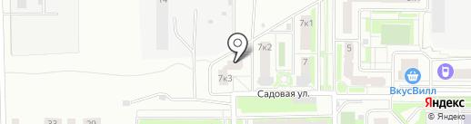 Магазин хозяйственных товаров на карте Подольска