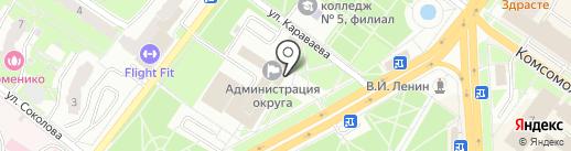Архивный отдел на карте Подольска