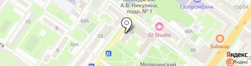 РемСтройВысота на карте Подольска