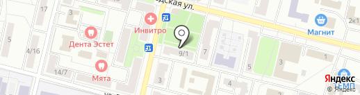 Зоомир на карте Климовска