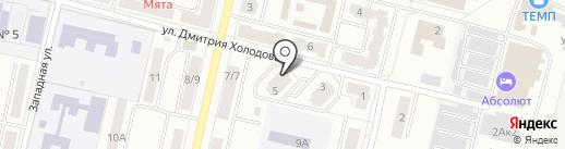 Титул на карте Климовска