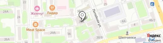Ярче! на карте Подольска