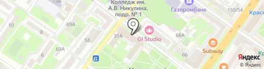 Деловой стиль на карте Подольска