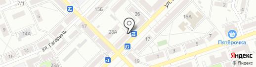 Киоск по продаже хлебобулочных изделий на карте Тулы