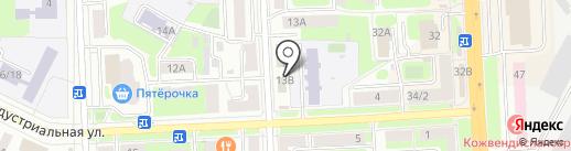 Клуб профессионального маникюра на карте Подольска