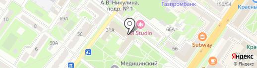 Окошкофф на карте Подольска