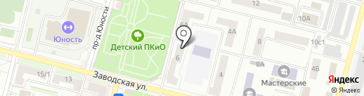 Говоруша на карте Климовска