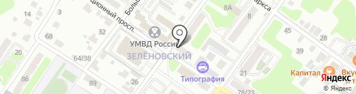 Адвокатский кабинет №1705 Русакова В.А. на карте Подольска