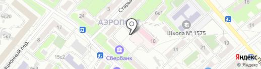 UVIVO на карте Москвы