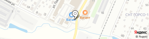 8 Марта на карте Подольска