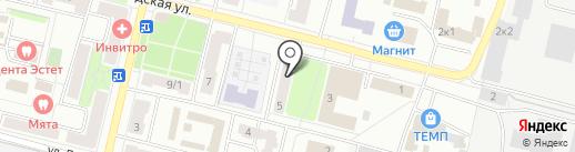 Морозко на карте Климовска