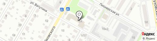 Комбинат коммунальных предприятий, МУП на карте Подольска