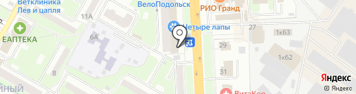 Платежный терминал, Транскапиталбанк, ПАО на карте Подольска