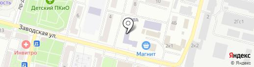 Учебно-спортивный подготовительный центр, НОУ на карте Климовска