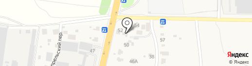 Мастерская колпаков на карте Ерёмино