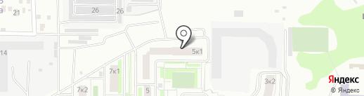 Нана на карте Подольска