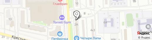 7Я на карте Подольска