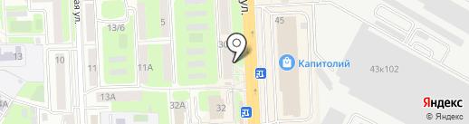 ЭПЛ ПЛЮС на карте Подольска