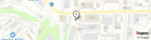 Арго на карте Тулы