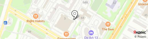 Магазин фототоваров на карте Москвы