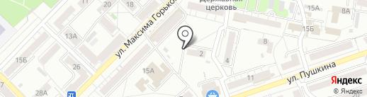 ПОДРУЧНЫЙ на карте Тулы