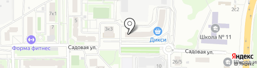 КОЛИБРИ на карте Подольска