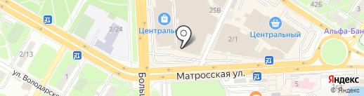 Станица на карте Подольска