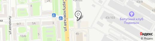 Окна-Сервис на карте Подольска