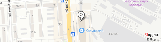Воображуля на карте Подольска