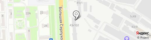 Воплощение на карте Подольска